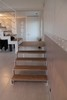 Escalier contemporain � cr�maill�re